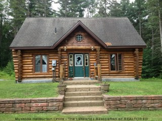 Muskoka Log Cabins For Sale In Huntsville On Andrew Turner