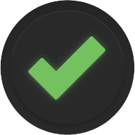 Success checkmark