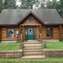 Muskoka Log Cabins For Sale In Huntsville On Scribe Fit Log Custom Cabin